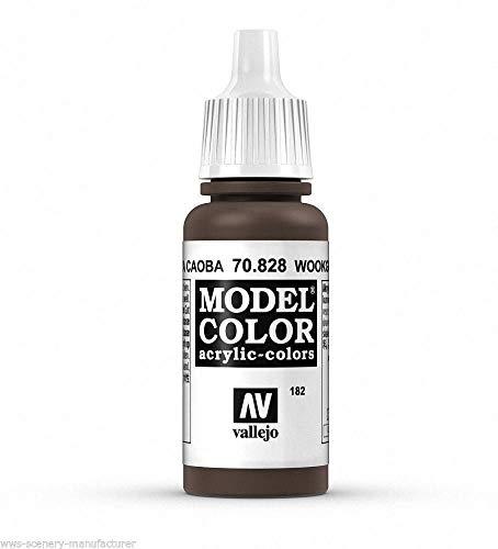 Woodgrain (WWG Vallejo Paint Model Color Woodgrain 70.828 - Wargame Miniature Figure Painting Modelling)