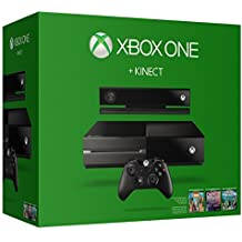 Microsoft Xbox One 500GB Console with Kinect Sports, Dance Central & ZOO