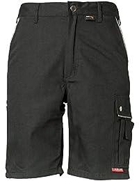 Planam Shorts Canvas 320, Größe XL, schwarz, 2174056