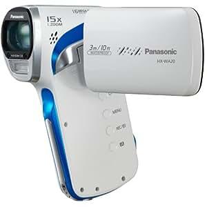 Panasonic HX-WA20EF-W Caméscope numérique vertical Full HD 16 Mpix Etanche à 3m Blanc