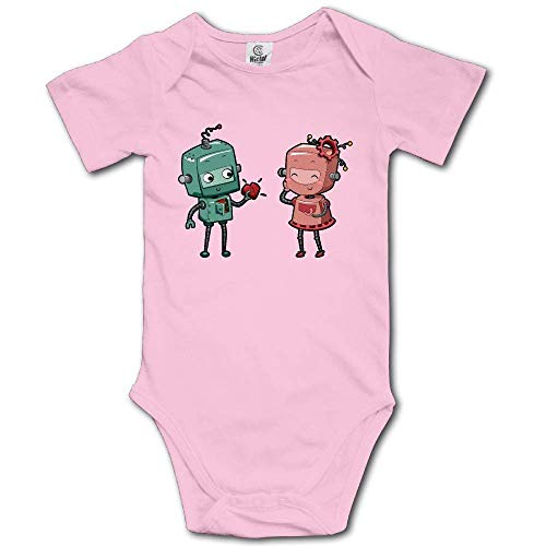Bodys & Einteiler,Babybekleidung, Baby one-Piece Suit,Baby Jumper,Pajamas, Robot Boy Girl Love Baby Baby Boy/Girl Clothes Pure Cotton Short Sleeve Baby - Boy Robot Kostüm