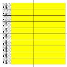 ClubKing - Juego de pulseras (fibras de polietileno Tyvek, 1000 unidades), color amarillo