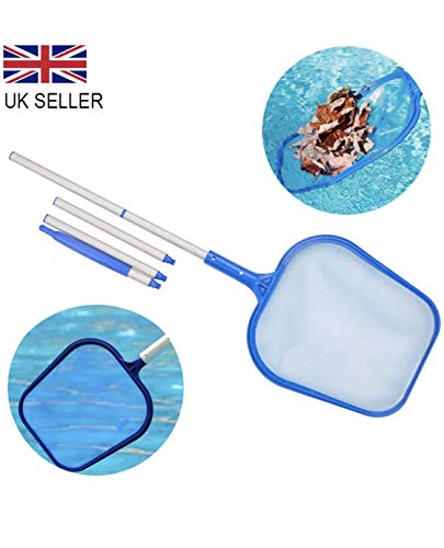 SWIMMING POOL NET LEAF SKIMMER WITH TELESCOPIC POLE INTEX POOLS AND SPAS