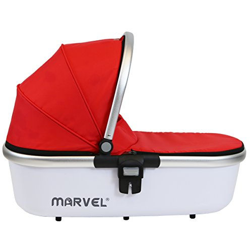 iSafe Marvel 3in1 Travel System Includes Car Sea & Carrycot (Red Pearl)  iSafe