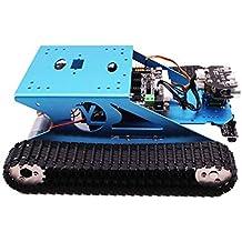 G1 Arduino Yahboom Stem Científico Educativo Inteligente Robot Tank Plataforma móvil Kit de Robot de chasis