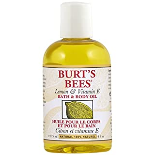 Burt's Bees Lemon and Vitamin E Body and Bath Oil, 115ml