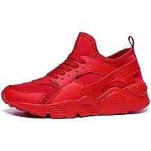YAYADI Los Hombres Zapatos Sneakers Verano Instructores Transpirable Zapatos Casuales Zapatos Fitness Jogging Ligero Y Transpirable