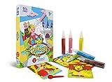 Sabbiarelli Sand-it for Fun Kit Princess - Set Lavoretti Creativi: Colora con la Sabbia Le Principesse, Bambini 5+