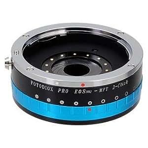 Fotodiox Pro Lens Mount Adapter with Built-in Aperture iris, Canon EOS EF Lens (NOT EF-S Lens) to Micro 4/3 Four Third System (MFT) Camera Adapter, Fits Olympus PEN E-P1, PEN E-P2, PEN E-PL1, PL2, Panasonic Lumix DMC-GF1, GF2, GF3, GH1, GH-2, G1, G2, G3, G10