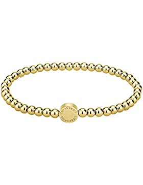 Liebeskind Berlin Damen-Armband Edelstahl Gold 17 cm