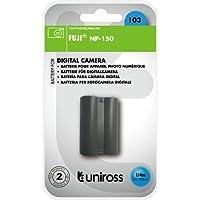 Uniross U0226776 Batterie pour appareil photo Fuji NP-150 1500 mAh 7,4 V