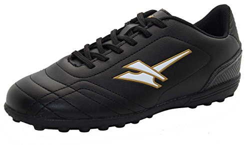 Gola Boys Football Turf Training Boot Girls Light Weight Black Trainer Shoe Size