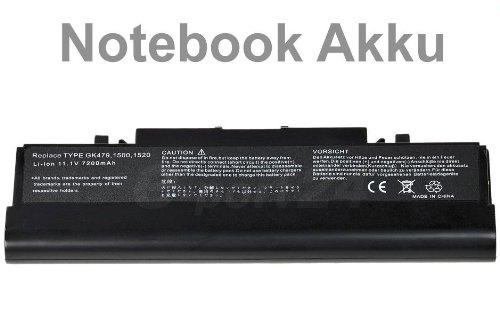 7800mAh Notebook Laptop Akku Batterie für Dell Inspiron 1520 1521 1720 1721 Vostro 1500 1700 ersetzt 312-0518 312-0520 312-0576 312-0577 312-0589 312-0590 312-0594 312-0595 451-10477 FP282 GK479 GR986 NR222 R239 UW280 FK890 K738H T112C T114C T116C 312-0518 312-0504 312-0513 312-0575