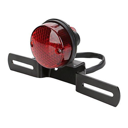 Fanale Posteriore, OSAN Universale LED Moto Faro Posteriore Freno con Staffa