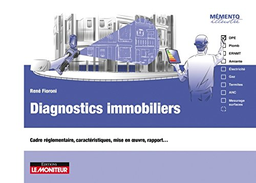 Diagnostics immobiliers: Cadre réglementaire, caractéristiques, formulaire, mise en œuvre, rapport… par René Fioroni