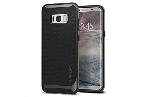 Coque Galaxy S8, Spigen® [Neo Hybrid] PREMIUM BUMPER [Gunmetal] Bumper Style Premium Coque Slim Fit Dual Layer Protective Etui Pour Samsung Galaxy S8 (2017) - (565CS21594)
