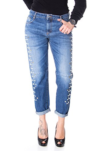 Please HIGH Waist Jeans P45 P45REH0T74 LOSE s Denim