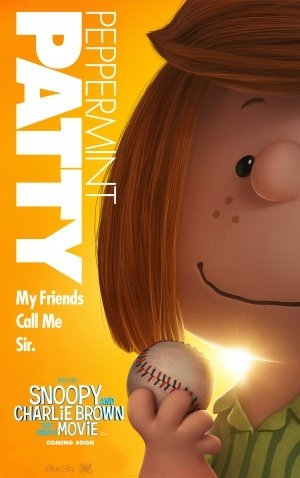 THE PEANUTS MOVIE – Peppermint Patty - US Imported Movie Wall Poster Print - 30CM X 43CM Brand New