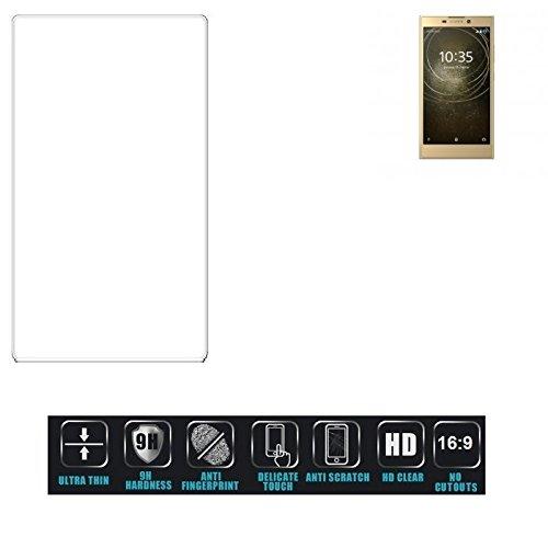Für Sony Xperia L2 Dual-SIM Schutzglas Glas Schutzfolie Glasfolie Bildschirmschutzfolie Bildschirmschutz Hartglas Tempered Glass Verb&glas für Sony Xperia L2 Dual-SIM 16:9 Format, bedeckt nicht die