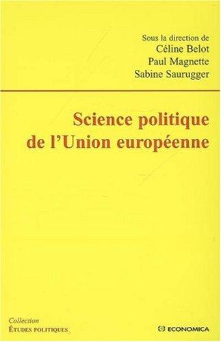 Science politique de l'Union européenne