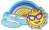 crocs Rainbow Sun Charm SS17 Schuhanhänger, Mehrfarbig (-), Einheitsgröße