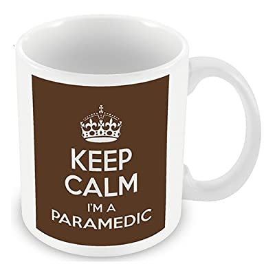 Keep Calm I'm a Paramedic (Brown) Mug