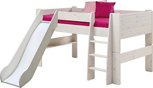 Steens For Kids  Kinderbett inkl. Absturzsicherung und Leiter, Liegefläche 90 x 200 cm, Kiefer...