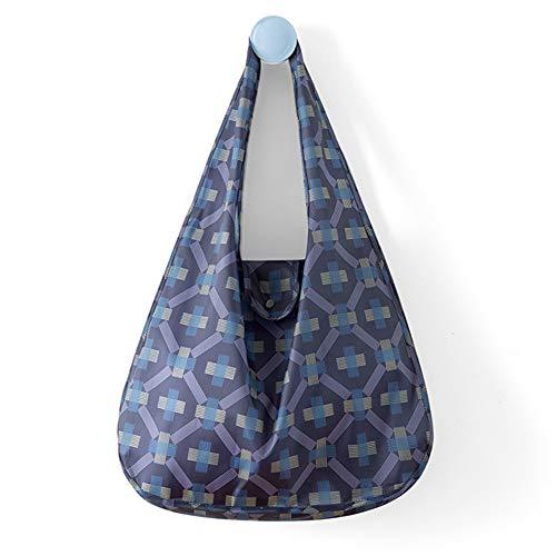 JoyFan Wiederverwendbare Einkaufstaschen, umweltfreundlich, faltbar, Einkaufstasche, Polyester, 04, 45x58x14.5cm