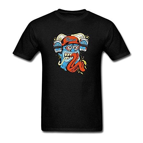 hommes-pabst-blue-ribbon-design-cotton-t-shirt-medium