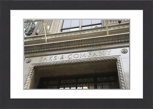 framed-print-of-saks-fifth-avenue