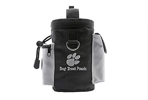 Mains libres pour chien avec friandises pour formation sac, sac peut transporter des snacks et jouets...
