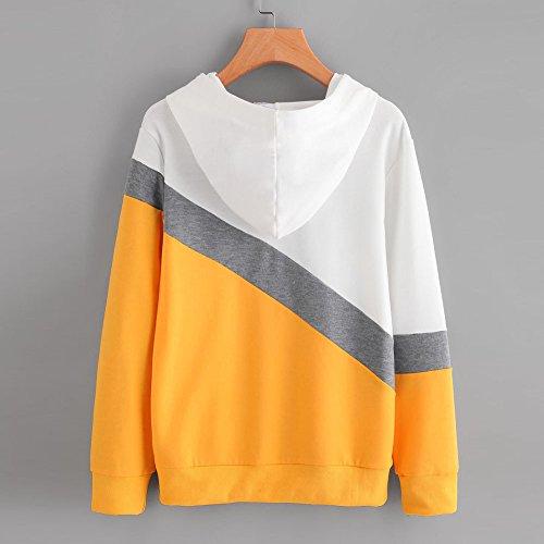 COOKDATE Damen Orange Label Elite Ziphood Kapuzenpullover -