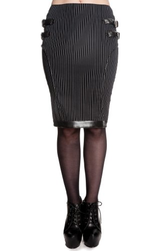 Spin Doctor Rock OCTAVIA SKIRT 5291 nero X-Small