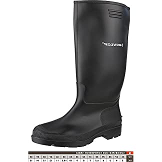 Dunlop 380PP Plain Rubber Pricemastor Footwear Wellingtons Safety Work Shoes 1