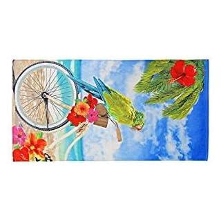Parrot Design 100% Baumwolle Große Urlaub,/Schwimmen/Beach/Badetuch 150