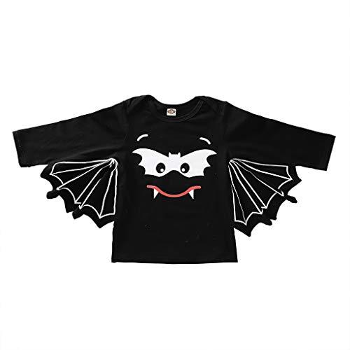 Dasongff Baby Strampler Neugeborenes Baby Jungen Mädchen Halloween Cosplay Kostüm Fledermaus Ärmel Strampler Outfits - Machen Kostüm Aus Schaumstoff