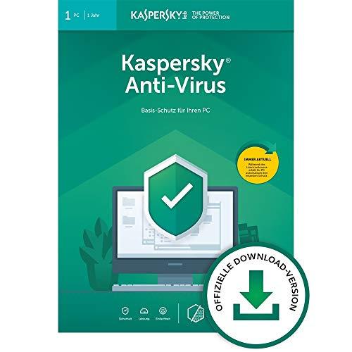 Kaspersky Anti-Virus 2020 Standard | 1 Gerät | 1 Jahr | Windows | Aktivierungscode per Email