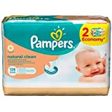 Pampers - Natural Clean lingettes 2x64 pcs