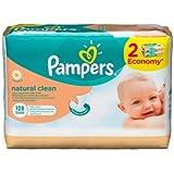 Pampers - Natural Clean lingettes 2x64 pcs