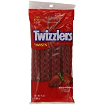 Twizzlers Strawberry Twists 198 g (Pack of 4)