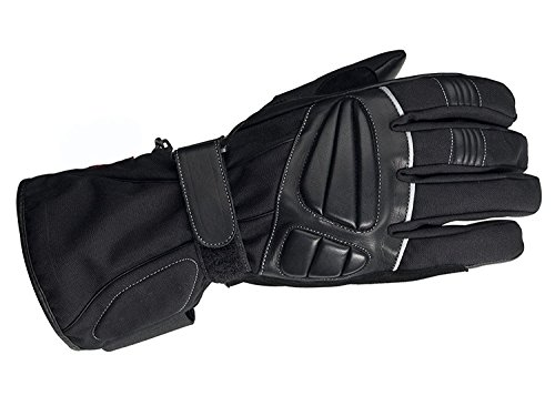 Juicy Trendz Winter Textil Motorradfahrer Motorrad Handschuhe Wasserdicht L