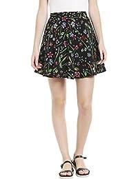 Globus Floral Print Skater Skirt