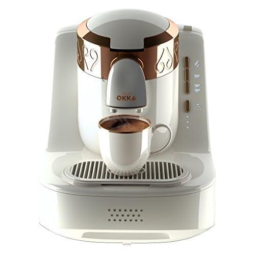 41UWSo6J72L. SS500  - Arzum OK001-W Automatic Turkish Coffee Machine, Plastic, 710 W, White