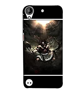 EagleHawk Designer 3D Printed Back Cover for HTC Desire 530 - D397 :: Perfect Fit Designer Hard Case