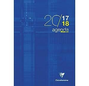 1 Agenda WHEN 21 - Août 2017 à juillet 2018 - Format 21x29.7cm - visuels aléatoire