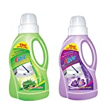 Epic Lavender and Neem Falour's for all purpose cleaner liquids-Kills 99.9% of gems and removes 100% of dust-Size(5Litre)-Pack of 2
