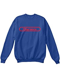 Teespring Men's Novelty Slogan Sweatshirt - Clarence The Name To Be Remembered
