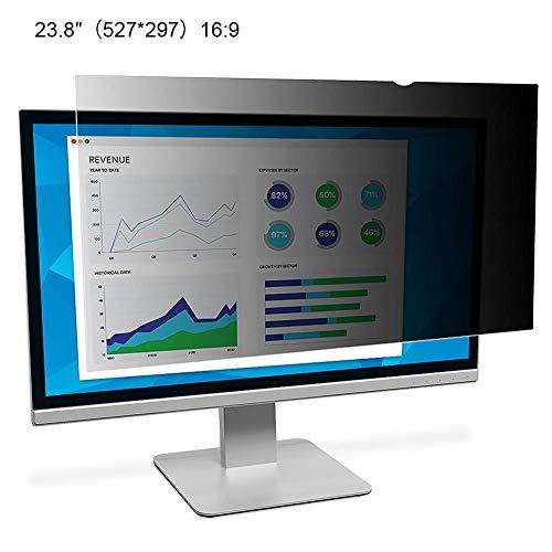 Universal-Desktop-Computer-Bildschirm-Sicherheitsschutzfolie, PC-Blickschutzfilter, Anti-Spy/Glare-Bildschirmfilter für 21- bis 24-Zoll-Breitbildmonitore