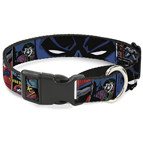& Joker Comic Martingale Hundehalsband, 2,5 cm Wide-fits 22,9-38,1 cm Neck-small ()