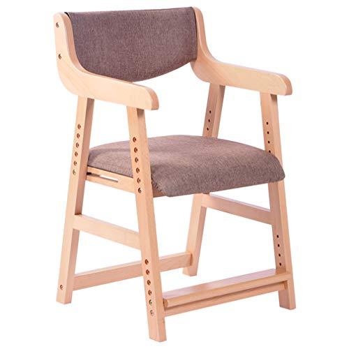 Kids Dining Chair 6 Höhenverstellbar, Kids Study Seat Mit Fußpedal, Children Height Control Chair Für Zuhause/Computer Tisch/Arbeitszimmer,P